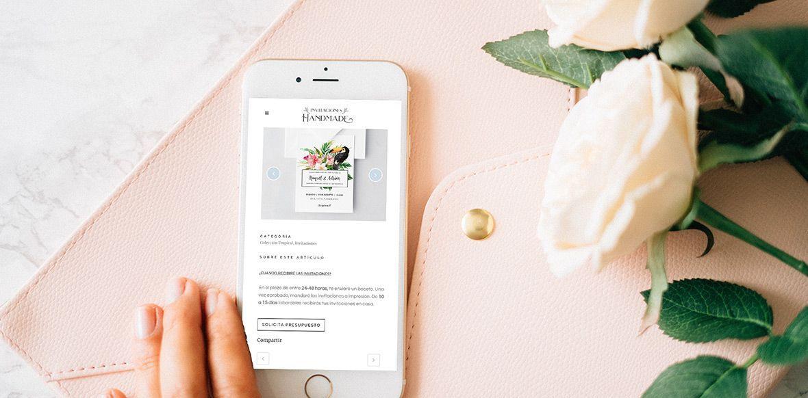 diseño web valencia invitaciones boda