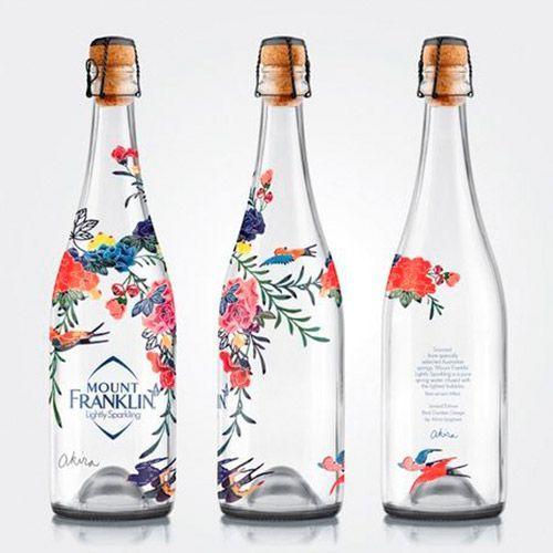 diseño packaging botella
